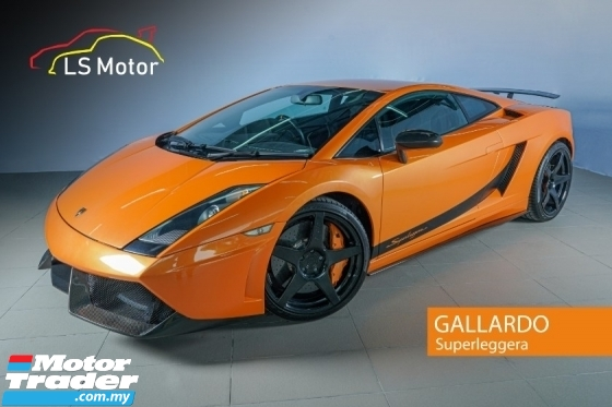 2007 LAMBORGHINI GALLARDO SUPERLEGGERA 5.0 V10 (A/M) LIMITED WORLDWIDE 618