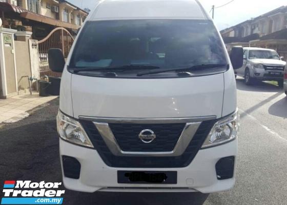 2018 Nissan  Urvan  NV350 2.5 Diesel Window Van