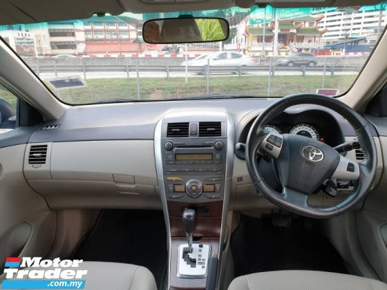 2011 TOYOTA COROLLA ALTIS 2.0 V FACELIFT (A) SUPER CAR KING MUST VIEW