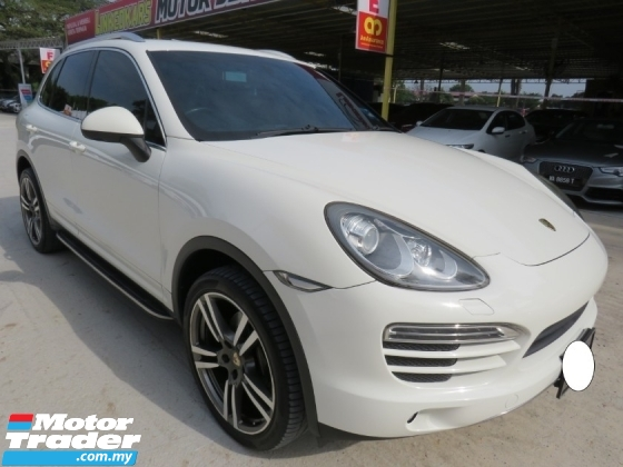 2012 PORSCHE CAYENNE 3.6 (A) V6 GTS ONE OWNER NICE NO PLATE 7700 H-LOAN