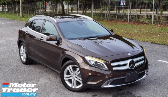 2015 MERCEDES-BENZ GLA 2015 MERCEDES BENZ GLA250 SE 2.0 4MATIC TURBO CAR SELLING PRICE ONLY RM 165000.00