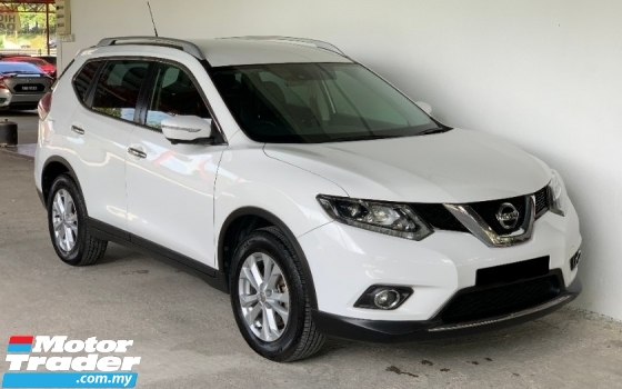2017 NISSAN X-TRAIL 2.5 Auto 4WD Facelift Full Spec Premium Model