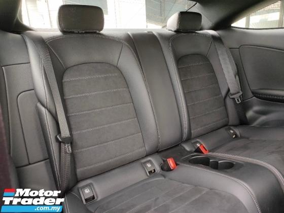 2019 MERCEDES-BENZ C-CLASS C300 AMG Coupe Premium Plus Facelift UK Unregister