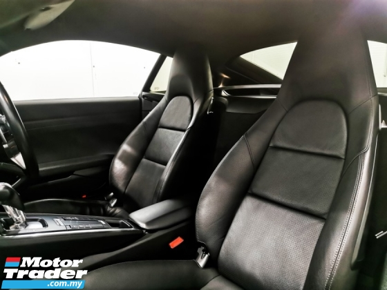 2013 PORSCHE CAYMAN Porsche CAYMAN S 3.4 981 PDK SPROT CHRONO WARRANTY