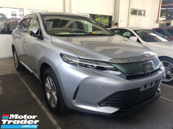2018 TOYOTA HARRIER 2.0 New Facelift 360 Camera Panoramic Roof Automatic Power Boot Pre-Crash Lane Departure Full LED