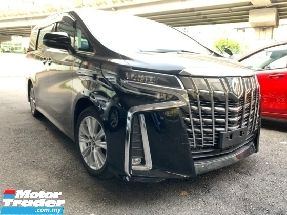 2018 TOYOTA ALPHARD 2.5 SA (PROMOTION PRICE WITH SST) DIM PRE CRASH 2 POWER DOOR 7 SEATER UNREG