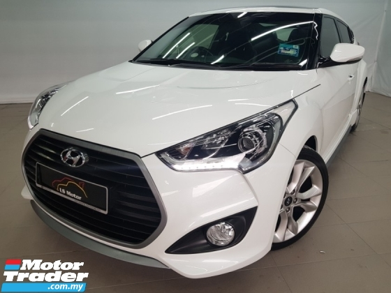 2015 HYUNDAI VELOSTER 1.6 TURBO (A) Facelift - Paddle Shift - Panaromic