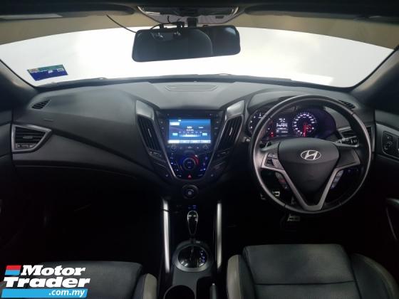 2015 HYUNDAI VELOSTER 1.6 TURBO (A) Facelift - Paddle Shift - Panaromic