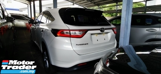 2017 TOYOTA HARRIER 2.0 PREMIUM.NEW FACELIFT.UNREGIST.FULLSPEC.TRUE YEAR CAN PROVE.LESS 50 SST.PANAROMIC ROOF.POWER BOOT