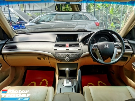 2012 HONDA ACCORD Honda ACCORD 2.0 VTi-L (A) LEATHER PERFECT WARRNTY