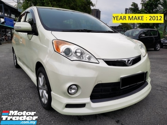 2012 PERODUA ALZA 1.5 EZi (A) FULL BODYKIT - TIP TOP CONDITION