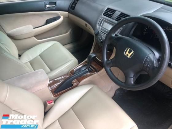 2007 HONDA ACCORD 2.0 VTi-S FACELIFT (A) LEATHER 1 OWNER SALE