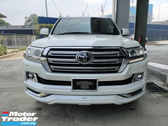 2018 TOYOTA LAND CRUISER 4.6 ZX SR 4Cam B/Kit PCS LKA BSM 1 Owner