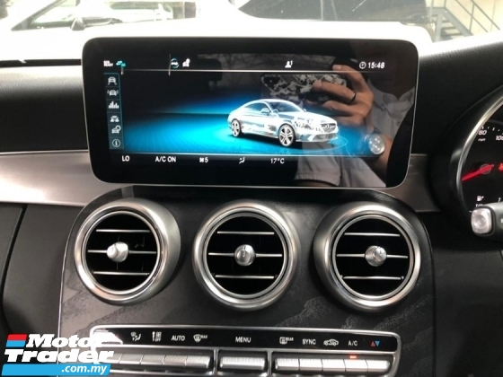 2019 MERCEDES-BENZ C-CLASS  C300 2.0 COUPE AMG LINE (CBU) 2.0 Turbo engine 241 HP New Facelift Model  Memory leather seats