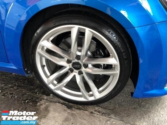 2017 AUDI TTS 2.0 TTS S LINE TFSI ENGINE 310-HORSEPOWER 6-SPEED ALL WHEEL DRIVE (QUATTRO) S LINE  Blue COLOR
