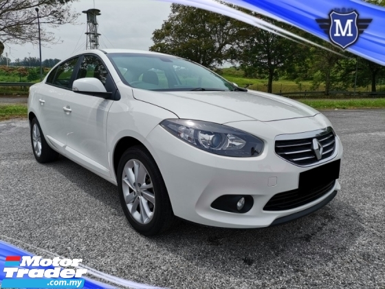 2016 RENAULT FLUENCE 2.0 (A) EXPRESSION SEDAN PUSH START TIP TOP CONDITION