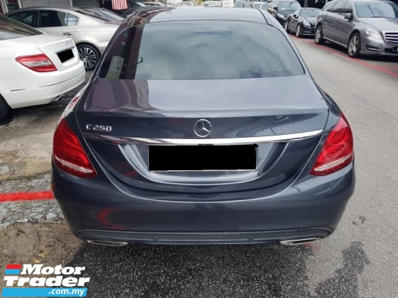 2016 MERCEDES-BENZ C-CLASS C250 2.0 AMG LINE (CKD)(FREE 2 YEARS WARRANTY)