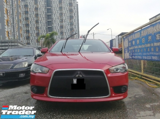 2010 MITSUBISHI LANCER 2.0 GT (A) HIGH LOAN CAN DO