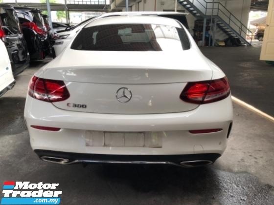 2019 MERCEDES-BENZ C-CLASS Unreg Mercedes Benz C300 2.0 Turbo Coupe AMG Sport Paddle Shift Camera 242HP SST Deduction
