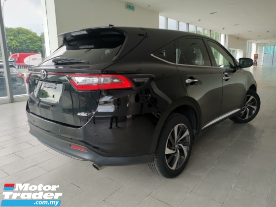 2017 TOYOTA HARRIER 2.0 TURBO ELEGANCE PANROOF 3LED BLACK UNREG