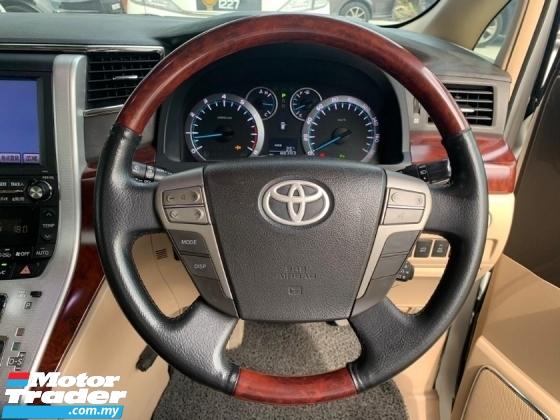 2008 TOYOTA VELLFIRE Toyota VELLFIRE 3.5 V L-EDITION HOME THEATER PILOT