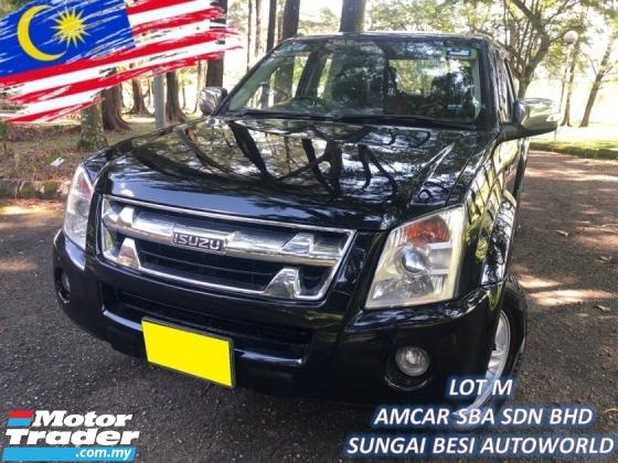 2011 ISUZU D-MAX 3.0L 4X4 DOUBLE CAB (A) Ddi iTEQ 4x4 (A) 1 OWNER