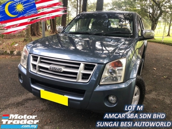 2009 ISUZU D-MAX 3.0L DOUBLE CAB Ddi iTEQ 4x4 (M) F/LIFT HI POWER