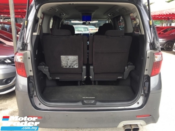 2011 TOYOTA ALPHARD 240S PRIME SELECTION 7 seater 2 power door power