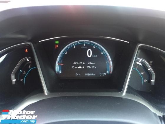 2017 HONDA CIVIC fc 1.5 TC car king 18k km full service record