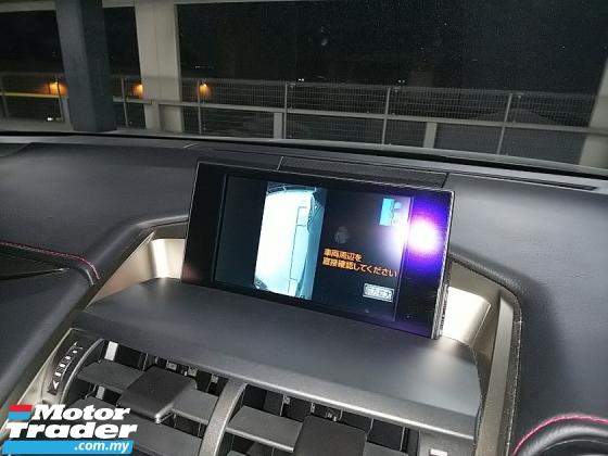 2014 LEXUS NX NX200 2.0 F SPORT UNREG