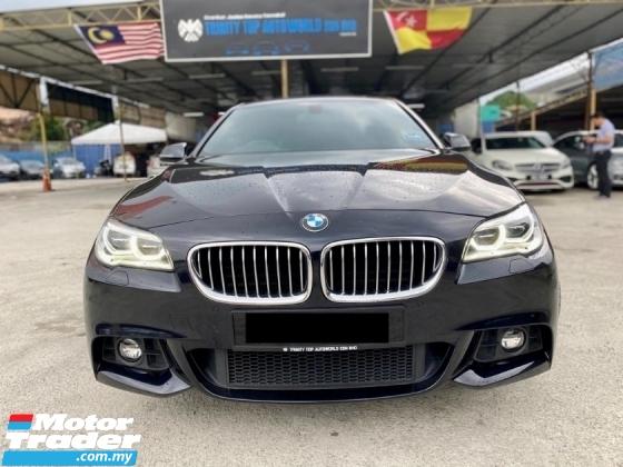 2017 BMW 5 SERIES 520I M SPORT FULL SPEC CKD FACELIFT UNDER WARRANTY
