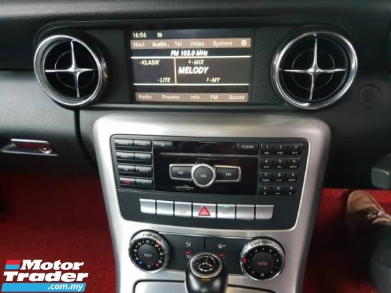 2011 MERCEDES-BENZ SLK 200 AMG SPORT 1.8 (UK SPEC)(FREE 2 YEARS WARRANTY)