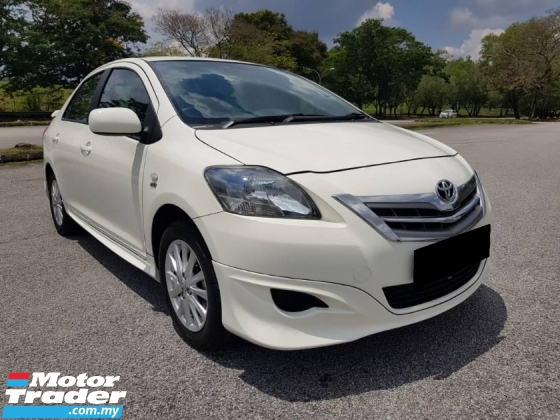 2012 TOYOTA VIOS 1.5 J Sedan (A) CAR KING CONDITION MORE FUEL SAVE FULL BODYKIT