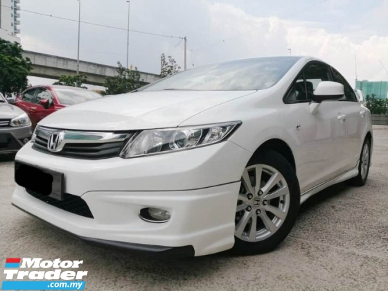2013 HONDA CIVIC 1.8 i-VTEC CONDITION CANTIK FULL LOAN
