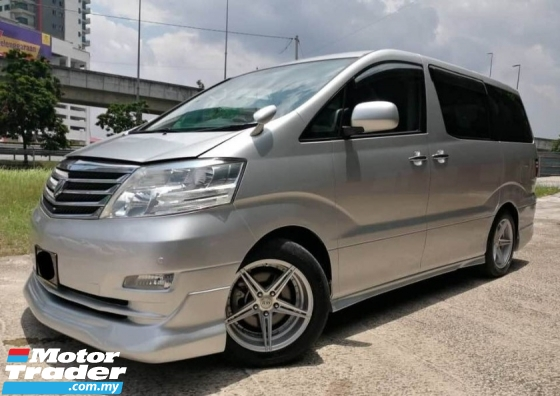 2007 TOYOTA ALPHARD 2.4 AS PREMIUM LEATHER SEAT PUSH START CARKING