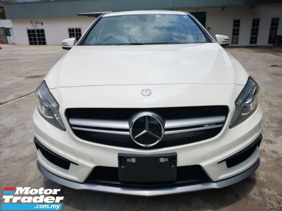 2015 MERCEDES-BENZ A45 AMG 4MATIC HIGH SPEC - READY STOCK UNREGISTERED
