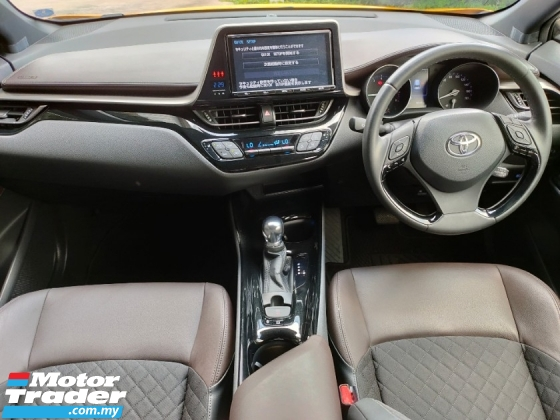 2017 TOYOTA C-HR 1.2 Turbo GT Precrash LDA BSM Modelistakits Unreg.