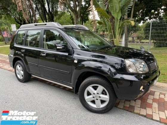 2011 NISSAN X-TRAIL 2.5 4WD (A) LUXURY SPEC ONE OWNER