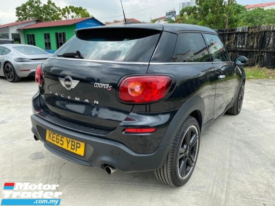 2016 MINI PACEMAN 1.6 S PACEMAN COUPE UNREGS