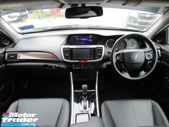 2018 HONDA ACCORD  2018 Honda ACCORD 2.0 VTi-L FACELIFT (A)19k km