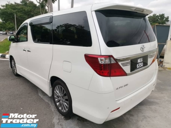 2013 TOYOTA ALPHARD 2.4 240S Type Gold Facelift (A)  One Careful Owner