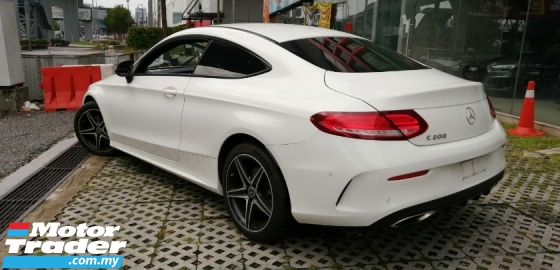 2017 MERCEDES-BENZ C-CLASS C200 AMG COUPE