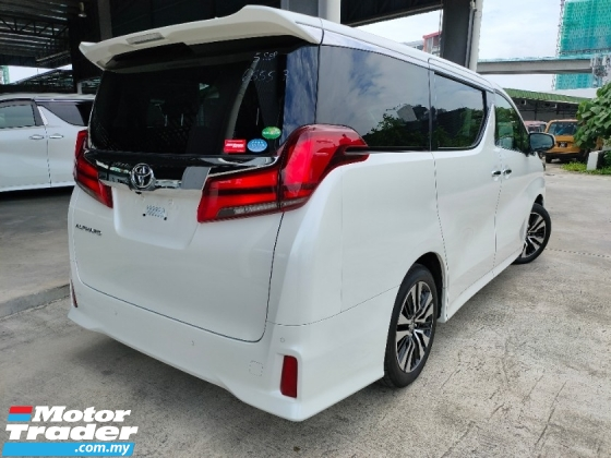 2019 TOYOTA ALPHARD 2.5 SC 3 LED Sun Roof PreCrash LTA DIM BSM Leather Power Boot Unregister