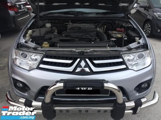 2014 MITSUBISHI TRITON 2.5 (a) 4x4 GS spec sunroof l/seat diesel turbo