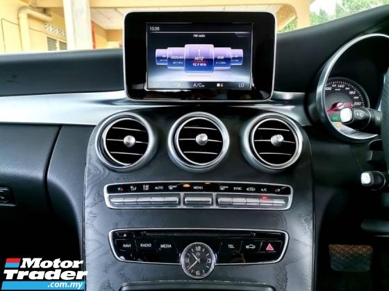 2017 MERCEDES-BENZ C-CLASS 2017 Mercedes Benz C200 AMG LINE 2.0 (CKD) (A)