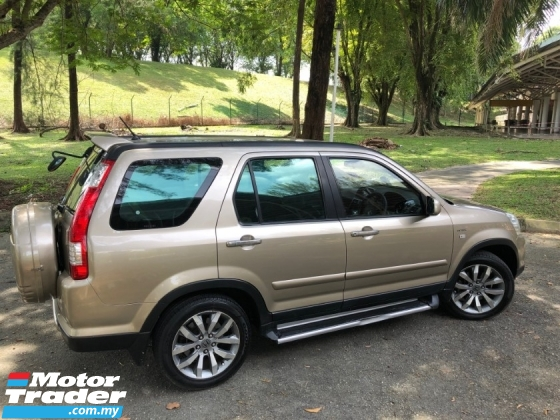 2006 HONDA CR-V 2.0 i-VTEC FACELIFT (A) MODULO LEATHER LIMITED