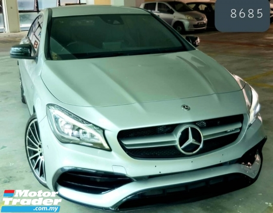 2016 MERCEDES-BENZ CLA 45 AMG 4 MATIC COUPE