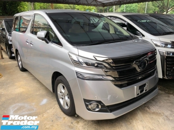 2017 TOYOTA VELLFIRE 2.5 X 2WD Pre Crash 360 Camera Power Boot 2 Power Doors Full LED Cruise Control 9 Air Bag Unreg