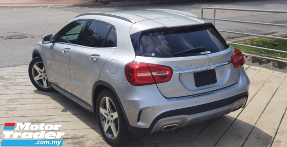 2016 MERCEDES-BENZ GLA 2016 MERCEDES BENZ GLA 180 1.6 AMG TURBO UNREG JAPAN SPEC CAR SELLING PRICE ONLY RM 159,000.00 NEGO