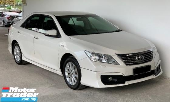 2012 TOYOTA CAMRY 2.0 G Auto Facelift Luxury High Spec